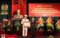 Công an tỉnh Nam Định: Tăng cường hiệu quả phòng ngừa xã hội, nghiệp vụ, điều tra