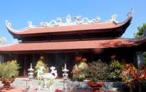 Khởi công xây dựng nhà tưởng niệm lãnh tụ Nguyễn Đức Cảnh