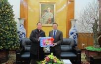 Tòa Giám mục Hải Phòng thăm, chúc Tết lãnh đạo UBND thành phố