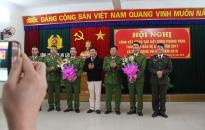 Khen thưởng công an các huyện Tiên Lãng, An Lão
