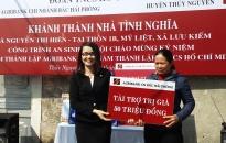 Trao nhà Nhân ái tặng hộ chính sách ở Thủy Nguyên