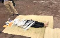 Phát hiện xác phụ nữ trên sông Bính