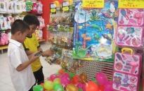 Thị trường đồ chơi trẻ em: Hàng ngoại vẫn chiếm ưu thế