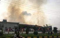 Quảng Ninh: Cháy tại công ty Texhong Ngân Long