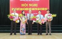Trường Đại học Hải Phòng: Công bố bổ nhiệm chức danh 4 phó giáo sư