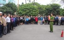 Văn phòng UBND thành phố: Tổ chức tuyên truyền về PCCC, cứu nạn, cứu hộ