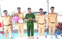 CATP khen thưởng Trạm kiểm soát giao thông Bạch Đằng