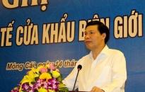 Quảng Ninh: Đẩy mạnh hoạt động kinh tế cửa khẩu biên giới