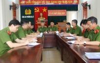 Đội CSQLHC về TTXH Công an quận Hồng Bàng: Hướng dẫn đợt kiểm tra chất lượng CSKV