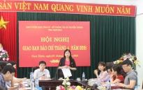 Giao ban báo chí tỉnh Nam Định tháng 4: Trả lời vấn đề công tác xử lý đơn thư, khiếu kiện