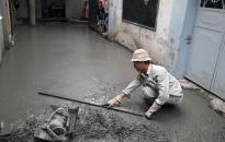 Phường Nghĩa Xá, quận Lê Chân: Làm ngõ theo cơ chế hỗ trợ xi măng của thành phố