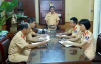 Cảnh sát Giao thông Nam Định với những nghĩa cử nhân văn