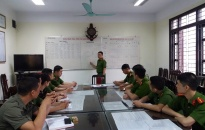 Công an thành phố Nam Định:  Vững nghiệp vụ,  giữ bình yên Thành Nam