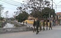 Giữ vững an ninh trật tự ở xã nông thôn mới Hải Thanh