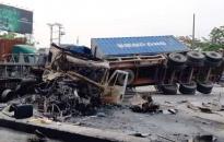 TNGT nghiêm trọng trên đường Nguyễn Bỉnh Khiêm