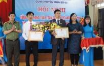 Cụm 8 trường THPT (Huyện An Lão – Quận Kiến An): Điểm sáng an ninh học đường