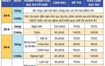 Hôm nay, 24-6, 19.962 thí sinh Hải Phòng đã làm thủ tục thi THPT quốc gia 2018