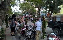 Công an quận Hồng Bàng: Xử phạt 99 trường hợp vi phạm TTATGT