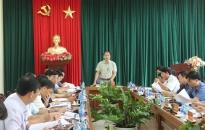 Quận ủy Dương Kinh Triển khai đồng bộ, toàn diện các nhiệm vụ