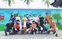 Thanh niên Hải Phòng  - Những hành động đẹp: Bức tường thiên thanh