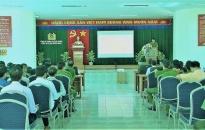 Công an quận Dương Kinh: Khai mạc kiểm tra chất lượng Cảnh sát khu vực năm 2018