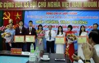 Bí thư Thành ủy Lê Văn Thành gặp mặt, biểu dương học sinh giỏi quốc tế