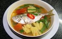 Canh chua cá chỉ vàng