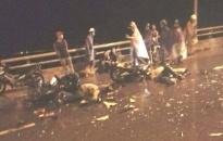 Tai nạn giao thông trên cầu Khuể, 4 người thương vong