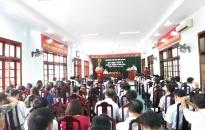 Quận Đồ Sơn: Khai mạc kỳ họp thứ 6, HĐND quận khóa V