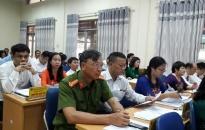 Khai mạc Kỳ họp thứ 6, HĐND quận Lê Chân, khóa XVIII nhiệm kỳ 2016 - 2021
