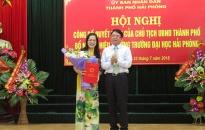 Bổ nhiệm PGS.TS Nguyễn Thị Hiên là Hiệu trưởng Trường Đại học Hải Phòng