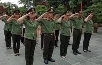 Báo An ninh Hải Phòng: Dâng hương tưởng nhớ các anh hùng liệt sỹ
