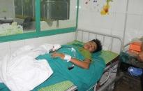 Bệnh viện Trẻ em Hải Phòng cấp cứu bệnh nhân bị máy xay thịt nghiền nát bàn tay phải