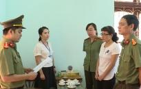 Khởi tố, bắt tạm giam đối với một số cán bộ liên quan đến sai phạm trong kỳ thi THPT Quốc gia năm 2018 tại Hội đồng thi tỉnh Sơn La