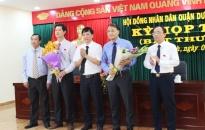 Kỳ họp thứ 7 HĐND quận Dương Kinh khóa 2