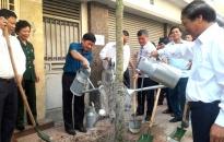 Quận Lê Chân:  Tiếp nhận và phát động trồng 1200 cây xanh