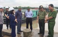 Phó Chủ tịch UBND TP Nguyễn Văn Thành kiểm tra công tác chuẩn bị phòng, chống bão số 4