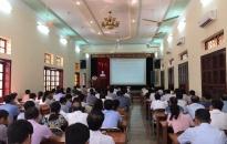 Quận ủy Đồ Sơn: Triển khai thực hiện Nghị quyết hội nghị Ban chấp hành Trung ương Đảng lần thứ 7 (khóa XII)