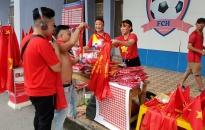 Thị trường 'ăn theo' bóng đá: Sôi động cùng đội tuyển Olympic Việt Nam