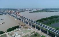 Về thời gian chính thức thông xe qua đường cao tốc  Hạ Long - Hải Phòng và cầu Bạch Đằng