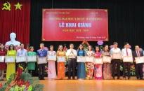 Trường ĐH Y Dược Hải Phòng khai giảng năm học mới