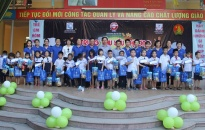 Trao 495 suất quà Trung thu và 111 suất học bổng tặng trẻ em có hoàn cảnh trên địa bàn thành phố