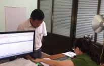 Công an quận Kiến An: Đăng ký mới cho 100 xe môtô, xe máy điện