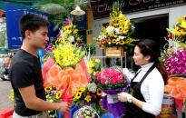 Phong phú thị trường quà tặng ngày 20-10