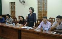 """Ban dân vận Thành ủy:  Tổ chức để các cơ quan báo chí thực tế cơ sở về """"Dân vận khéo"""""""