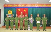 Thượng tá Bùi Trung Thành, Phó Giám đốc CATP: Chỉ đạo triển khai các mặt công tác tại Phòng PC06
