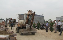 Về các công trình vi phạm khu đất 14,2 ha tại hai phường Thành Tô và Tràng Cát: Chuẩn bị bàn giao hồ sơ pháp lý giữa Tổng Công ty 319 (Bộ Quốc phòng) với quận Hải An (thành phố Hải Phòng)