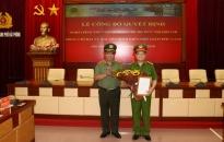 CATP Hải Phòng công bố quyết định nghỉ công tác chờ hưu trí đối với  đồng chí Đại tá Nguyễn Bình Kiên - Phó Giám đốc CATP