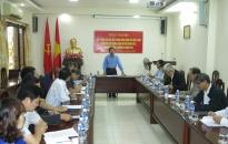Ủy ban MTTQ Việt Nam thành phố: Lấy ý kiến về Dự thảo Thông báo công tác Mặt trận tham gia xây dựng chính quyền năm 2018