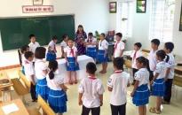 Trường tiểu học Vạn Hương, quận Đồ Sơn: Gắn học tập với các hoạt động phong trào